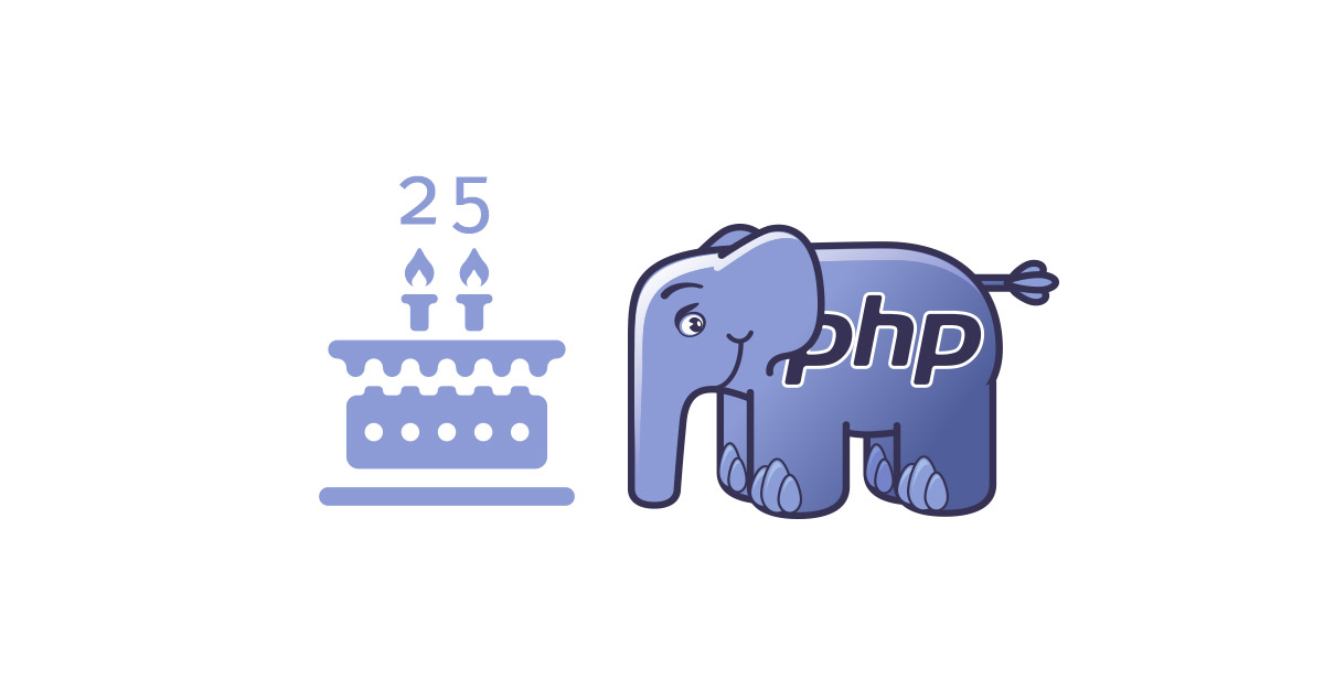 PHP turns 25!
